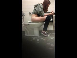 Hidden cam college bathroom 406