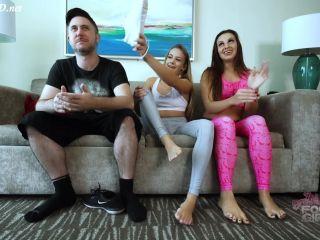 Naomi _ Ashlynn - Forced to cum to our Stinky Feet