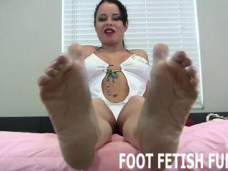 Femdom feet worshiping and foot  domination