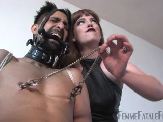 Femmefatalefilms: Miss Zoe - Snatched - Part 4, a foot fetish on gangbang