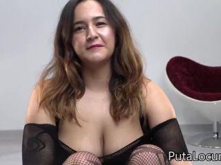 PutaLocura - Natalia Tetona - Bukkake (330 MB) on bukkake guy blowjob