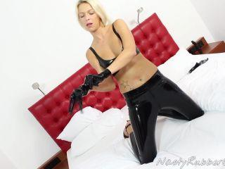 Kinky Rubber Masturbation, Fingering, Dildo, Masking Part 2 – Barbara – Femdom, Fetish | rubber | toys kim kardashian femdom