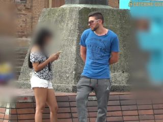 Amazing sexy with a 18yo cute colombian teen picked up in public*