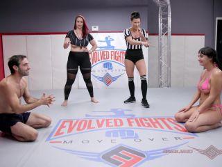 EvolvedFights – Charlotte Cross vs Jake Adams – Mixed Wrestling