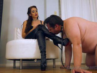 fetish lingerie The Mean Girls - Princess Carmela - Dinner For Pig Slave (1080 HD) [Human Pet, Spitting, Face Slapping, Humiliation], bootlicking on femdom porn