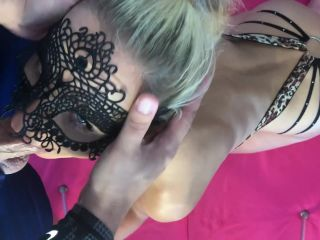 amateur trap Saliva Bunny - Super Messy Blowjob & Face Fuck from my Step Sister. PART1 , blonde on blonde