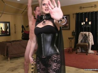 Mistress Aleana's Queendom - Cruel Countess Full Body Bullwhipping - corporal punishment on bdsm porn