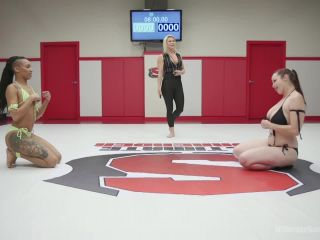 Nikki Darling finger fucked until she cums against her will | lesbian | fetish porn big black dick anal