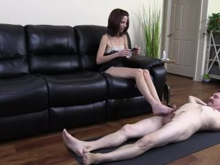 Very Veiny Oily Footjob – Arches, Toes, Heels, Soles on feet my fetish
