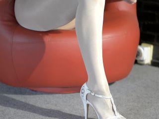 White pantyhose video - VeronaGymnast