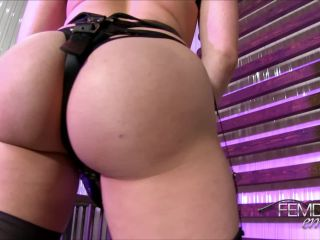 VICIOUS FEMDOM EMPIRE – Stretched to Gape  Starring Mia Malkova – Ass Fucking, Latex, drunk fetish porn on big ass