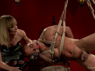 ELECTRO FEMDOM Mona Wales Electrically Teases and Tortures Slave Boy, hentai feet fetish on feet porn