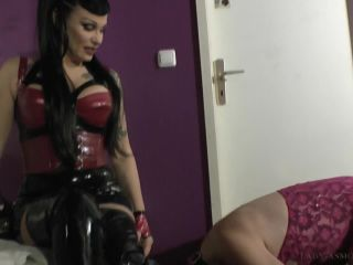Mistress Asmondena — Double Slave Slut Training With Miss Velour Part 1 | socks | lesbian girls femdom gone wild