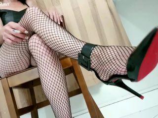 Jhonn Womens Feet - Pantyhose Footjob Lili, crush fetish sites on handjob