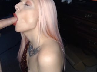 xev bellringer blowjob cumshot | Pink Hair, Red lip, Sensual Blowjob and facial 1080 HD – SeAnna Gene | blow jobs