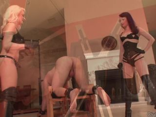 ClubDom – Alexis Grace – Caning, bdsm pussy squirt on femdom porn