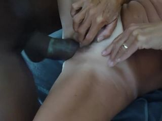 69034 Hot white granny pleasured by younger black bull