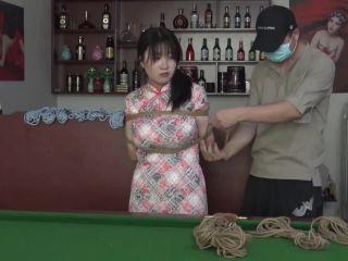 rope bondage shibari ballgag blindfold suspension