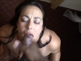 Plt01806 8220 Adult Store Cashier Sucks Black Dick And Drinks Cum