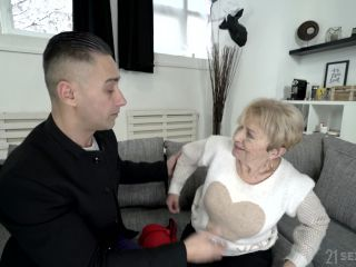 Lusty Grandmas - Malya, hot foreign deepthroating blonde on blonde
