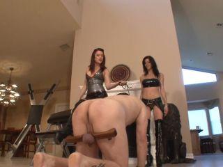 Wooden Paddle Punishment - Deanna Storm