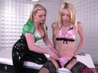 neck brace fetish fetish porn | Feminized – Sasha De Sade, Lexi Sindel – One Last Orgasm | men wearing lingerie