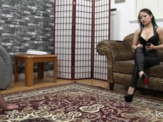 Online porn ClubStiletto - Miss XI - Training Him to Be My chair [Human Furniture]
