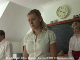 Firm Hand Spanking - Belinda Lawson - Reform Academy - DR!!!