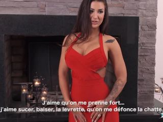 Susy Gala - Luscious Spanish babe Susy Gala fucks French cock and