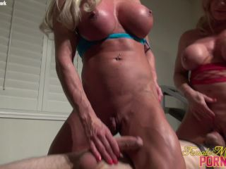 {ashlee Chambers And Wild Kat - Their Slave Does What They Want