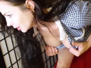 ManyVids - Jade Styles - JOI For Daddy In My School Dress  - toys - anal porn anal 11
