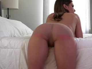 Shredded Pantyhose Date Night Spanking – Chrissy Marie!!!