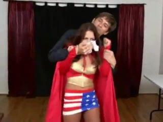 Movie title Wonder Girl Taken Humiliated