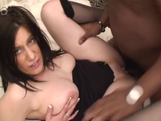 Black lover's creampie was oozing out of pussy