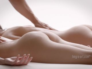 Hegre-Art – Double Pleasure Massage – Julietta and Magdalena Double Handjobs