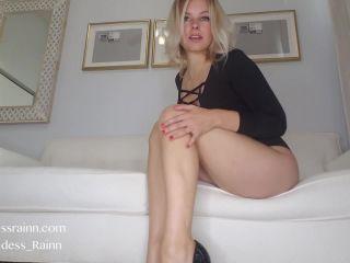 Shoes – Goddess Rainn – Long Legs Worship - shoe fetish - feet batman femdom