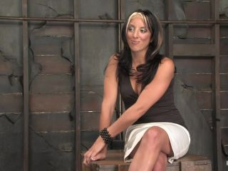 Hot MILF Gina Caruso, a cable sport caster, brings her hot, shaved body to Hogited.!!!