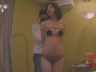 asian guy fuck asian girl china rope bondage shibari suspension vibrator blindfold, bondage on asian girl porn