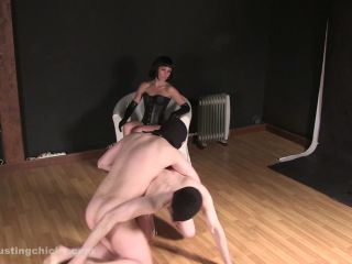 Ball Busting Chicks - Naked Men Treated Worse Than Dogs. Starring Nata ...