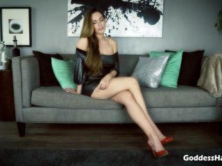 Goddess Harley - Cruel Chastity Cum Game!!!