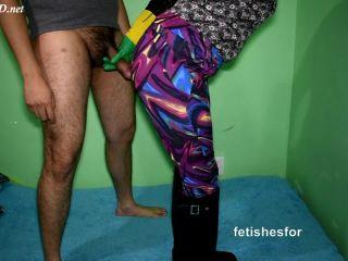 Rubber Gloves Handjob, Facesitting Rubber Boots _ Yoga Pants, Cum Explosion,  on handjob porn