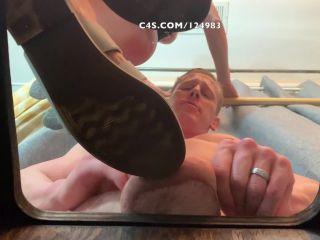 femdom sissification – The Fetish Couple – Crushed On The Glass Box, femdom on femdom porn