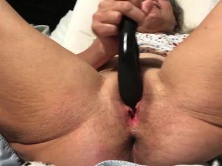 Grandma Dildo Play