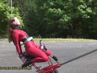 hogRS02scene lg Ponygirl Powered Saddle Fucking Machine