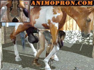 Horse animopron BREAKING THE