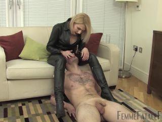 voice fetish big ass | Femme Fatale Films – Sensory Leather Perception – Complete Film - Mistress Akella - Hot Femdom | femme-ff
