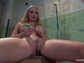 Anal Antics... Aiden Starr fucks her own ass with water