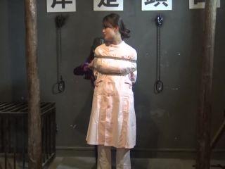 rope bondage shibari ballgag nurse