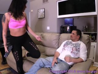 Brat Princess – Mariah – Sits on Step Dads Face while Watching TV (MP4, FullHD, 1920×1080) - femdom - femdom porn femdom public humiliation