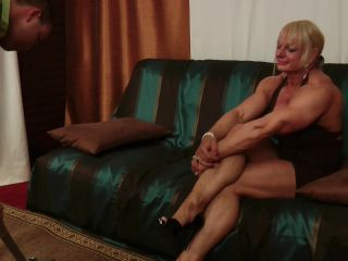 daisy haze femdom fetish porn | Athena2: Maryse Manios - Fbb Mixed Wrestling - The Cleaning Man | fantasy wrestling
